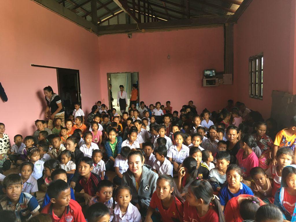 Les enfants de l'école de Bang fang Deng